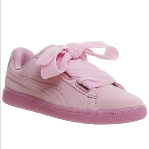 Puma Suede Heart Reset - Prism Pink
